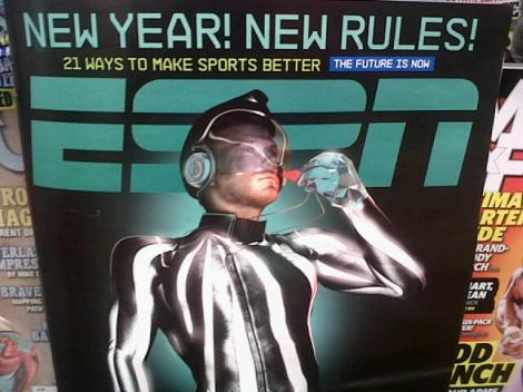ESPN's latest cover seems to have the right idea!