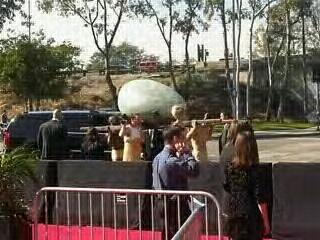 Lady Gaga's Grammy Arrival