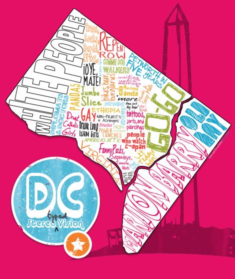 DC StereoTypeMap from SocialStudiesdc.com