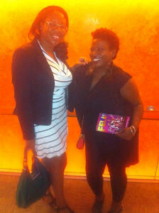Didi Green and Networkhair Member Nyounti T.