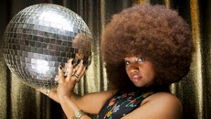 Aevin Dugas..The Curator of the World's Largest 'Fro!