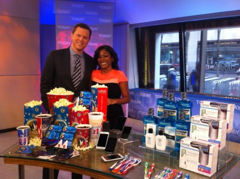 NETWORKHAIR'S very own MARKETTE SMITH on the TODAY SHOW w/ WILLIE GEIST